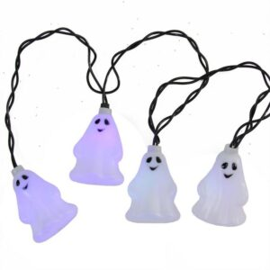 Northlight LED Color Changing Ghost Halloween Lights (Set of 10)