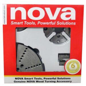 NOVA Small Chuck Work Accessory Jaw Bundle
