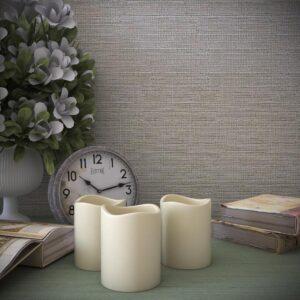 Lavish Home 8-Piece LED Flameless Votive Wax Style Candle Set