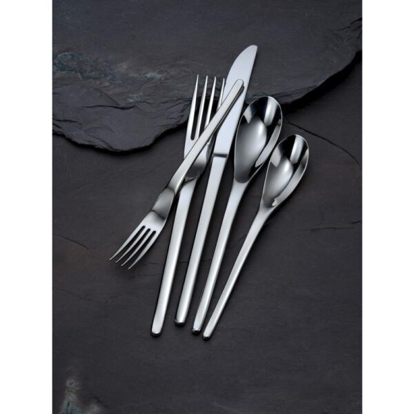 Oneida Apex 18/10 Stainless Steel Round Bowl Soup Spoons (Set of 12)