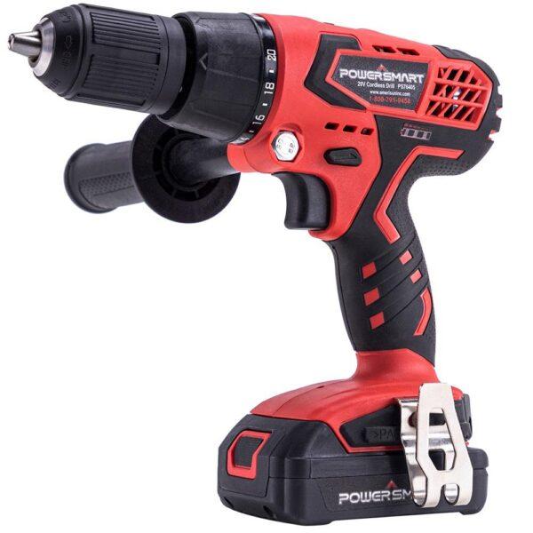 PowerSmart 20-Volt Cordless 3/8 in. Power Drill