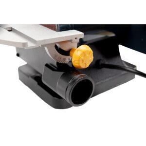POWERTEC Belt Disc Sander for Woodworking, 1 in. x 30 in. Belt Sander with 5 in. Sanding Disc