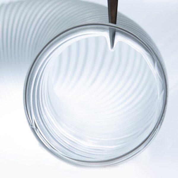 POWERTEC 2-1/2 in. x 10 ft. Flexible PVC Dust Collection Hose, Clear Color