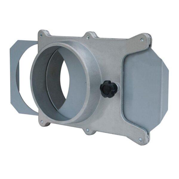 POWERTEC 4 in. Aluminum Blast Gate for Vacuum/Dust Collector