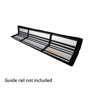 POWERTEC 60 in. Premium Guide Rail Bag with Dual-Sided Padding for Secure Rail Placement