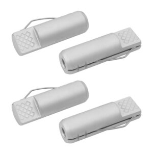 POWERTEC 3/4 in. x 2-3/8 in. Aluminum Bench Dogs Spring Loaded Hold Down for Workbenches (4-Pack)