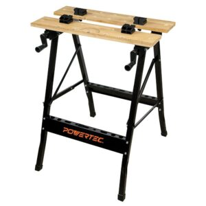 POWERTEC Workbench with Bamboo Top