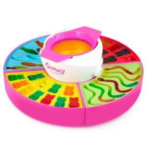 Nostalgia Multi-Colored Gummy Candy Maker