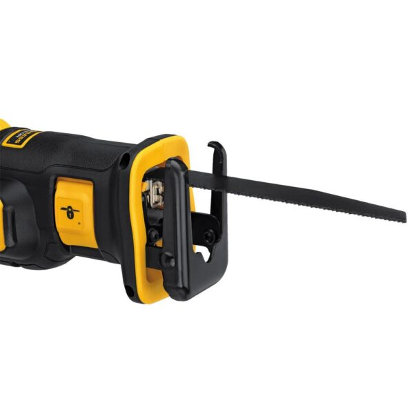 DEWALT 20-Volt MAX Li-Ion Cordless Brushless Compact Reciprocating Saw w/ 20-V 1/2 in. Impact Wrench with Detent Pin(Tool-Only)