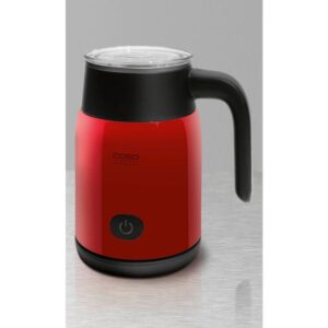CASO 3.4 oz. Red Electric Milk Frother