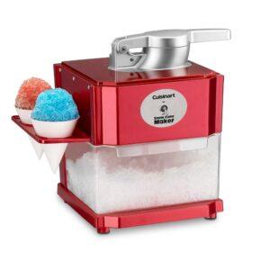 Cuisinart 20 oz. Red Countertop Snow Cone Machine
