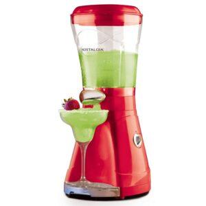 Nostalgia 64 oz. Single Speed Red Margarita and Slush Blender