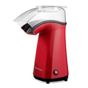 Nostalgia Air Pop Hot Air 4 oz. Red Countertop Popcorn Machine