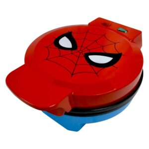 Uncanny Brands Marvel Classic Spiderman Red Waffle Maker