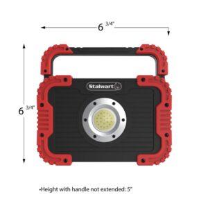 Stalwart 750 Lumens LED Work Light with Rotating Handle