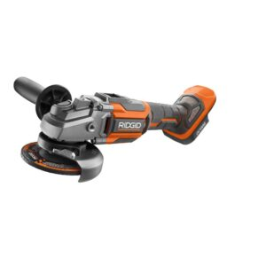RIDGID 18-Volt OCTANE 4-1/2 in. Angle Grinder with 18-Volt Lithium-Ion 2.0 Ah Battery and Charger Kit