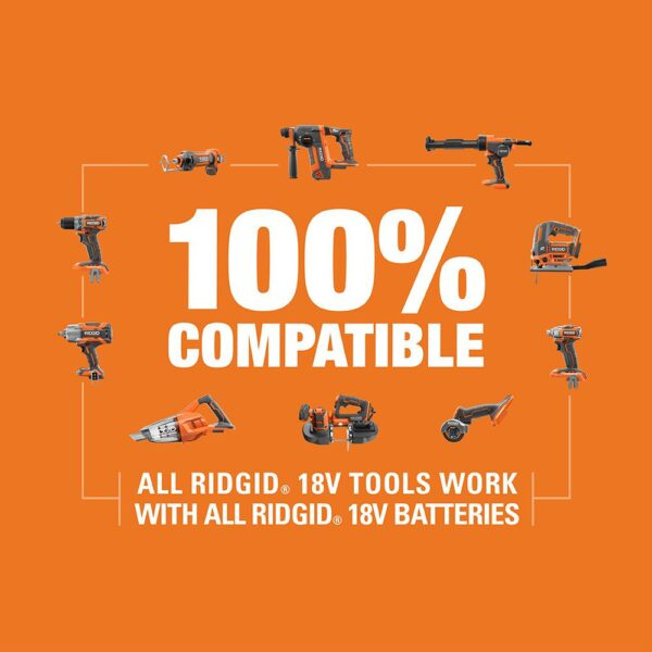 RIDGID 18-Volt Lithium-Ion Brushless Cordless 1/4 in. 3-Speed STEALTH FORCE Impact Driver (Tool Only)