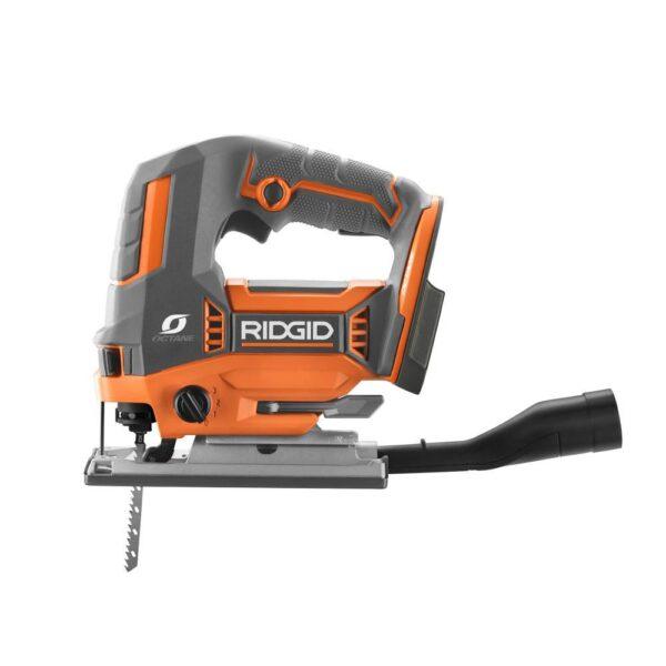 RIDGID 18-Volt OCTANE Cordless Brushless Jig Saw (Tool Only)