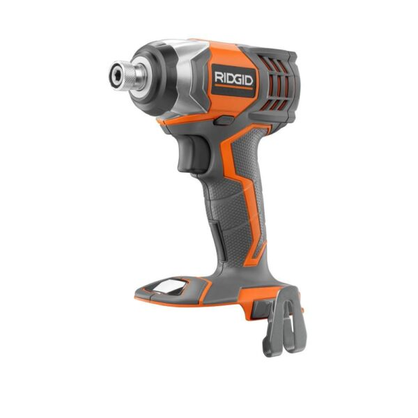 RIDGID 18-Volt Cordless Drill/Driver and Impact Driver Combo Kit with Bonus 18-Volt 1.5 Ah Lithium-Ion Battery (2-Pack)