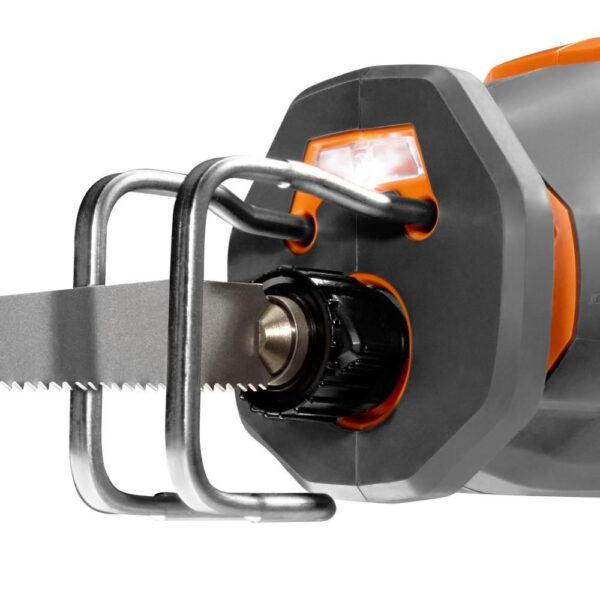 RIDGID 18-Volt OCTANE Cordless Brushless One-Handed Reciprocating Saw Kit with (1) OCTANE Bluetooth 3.0 Ah Battery and Charger