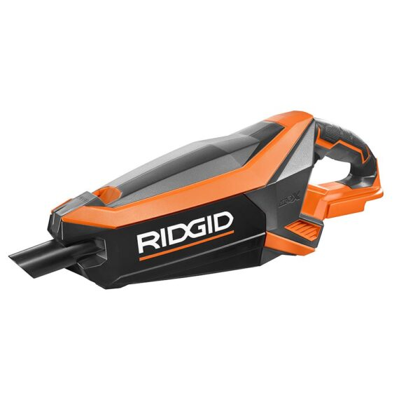 RIDGID 18-Volt GEN5X Cordless Brushless Vacuum (Tool Only) with Floor Nozzle, Crevice Nozzle and 2 ft. Extention Tube