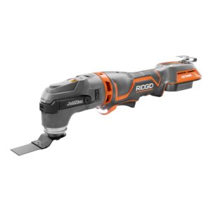 RIDGID 18-Volt OCTANE Cordless Brushless JobMax Multi-Tool with Tool-Free Head