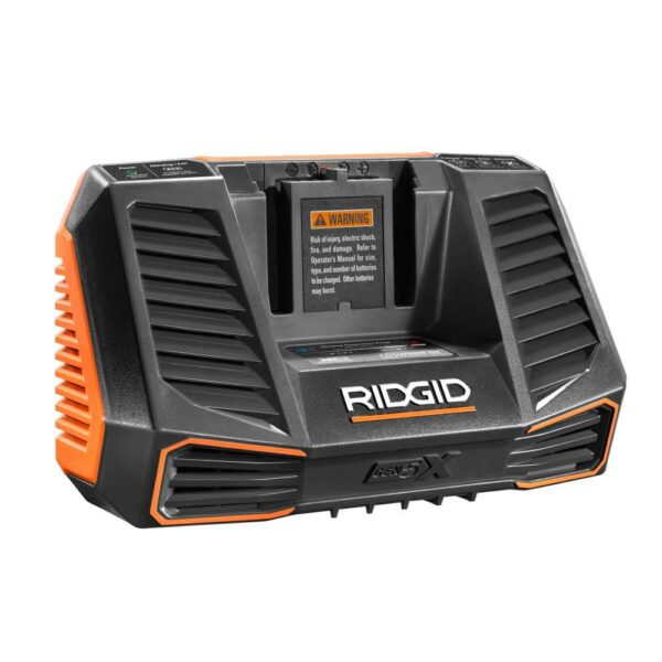 RIDGID 18-Volt OCTANE Job Max Multi-Tool with 18-Volt Lithium-Ion 2.0 Ah Battery and Charger Kit