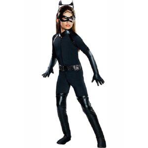 Rubie's Costumes Medium Girls Deluxe Catwoman Costume