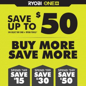 RYOBI ONE+ 18V Cordless 1/2 in. x 18 in. Belt Sander (Tool Only) with 1/2 in x 18 in. Sanding Belts (3-Pack)