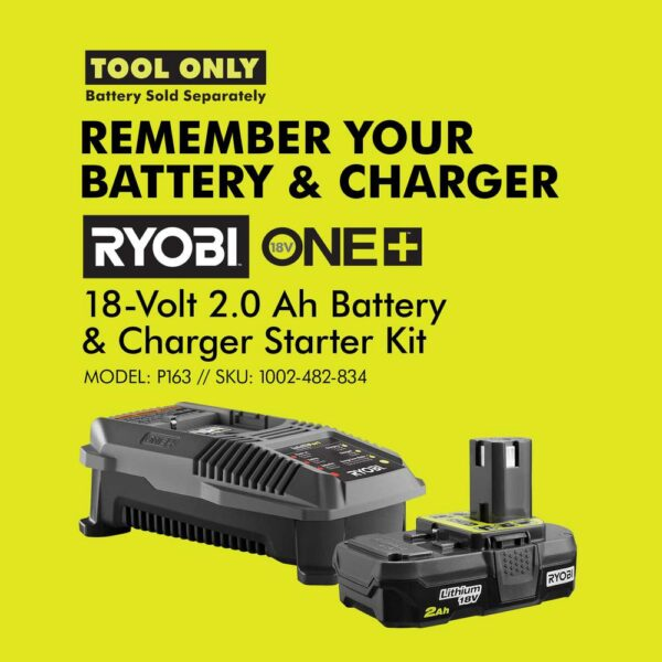 RYOBI 18-Volt ONE+ Lithium-Ion Cordless Fixed Base Trim Router w/Tool Free Depth Adjustment and Orbital Jig Saw (Tools Only)
