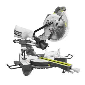 RYOBI 15 Amp 10 in. Sliding Compound Miter Saw with LED