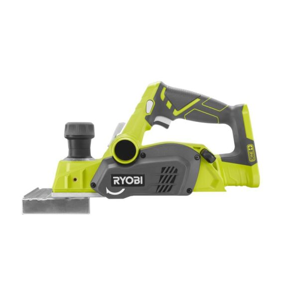 RYOBI 18-Volt ONE+ Cordless 3-1/4 in. Planer and 1/4 Sheet Sander with Dust Bag (Tools Only)