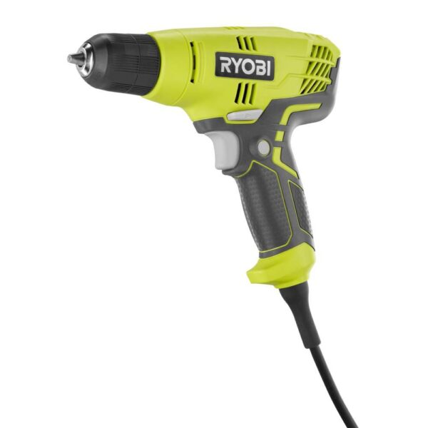 RYOBI 5.5 Amp Corded 3/8 in. Variable Speed Compact Drill/Driver with Bag