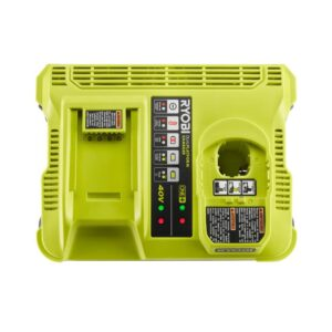 RYOBI ONE+ Lithium-Ion Dual Platform Charger for RYOBI 18-Volt ONE+ and 40-Volt Batteries