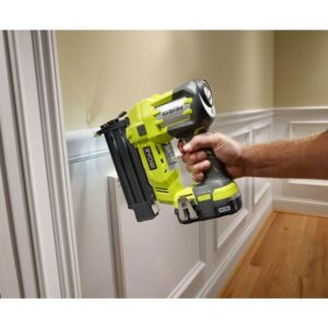 RYOBI 18-Volt ONE+ Lithium-Ion Cordless 3-Tool Combo Kit with Drill/Driver, Impact Driver, AirStrike 18-Gauge Brad Nailer