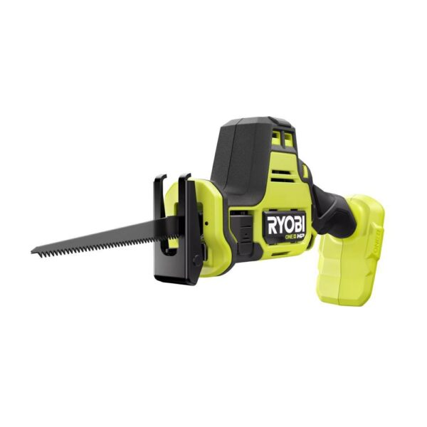 RYOBI ONE+ HP 18V Brushless Cordless Compact 2-Tool Combo Kit with One-Handed Reciprocating Saw and Cut-Off Tool (Tools Only)