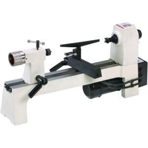 Shop Fox 8 in. x 13 in. 110-Volt 1/3 HP Bench-Top Wood Lathe