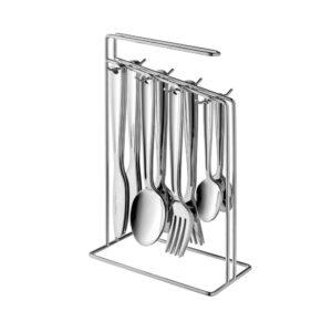 BergHOFF Essentials Alteo 25-Piece Stainless Steel Flatware Set (Service for 6)
