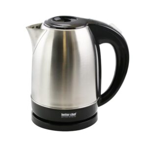 Better Chef 7-Cup Stainless Steel Cordless Electric Tea Kettle