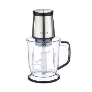 Brentwood Appliances 6.5-Cup Silver 300-Watt 4-Blade Food Processor