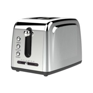 Brentwood Appliances 2-Slice Silver Extra-Wide Slot Toaster