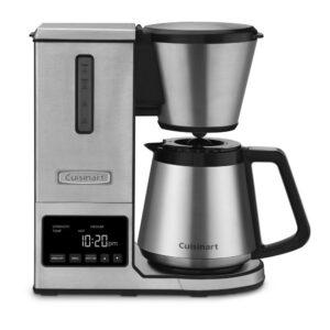 Cuisinart PurePrecision 8-Cup Programmable Silver Drip Coffee Maker