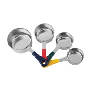 Fox Run 4-Piece Stainless Steel Measuring Cup Set