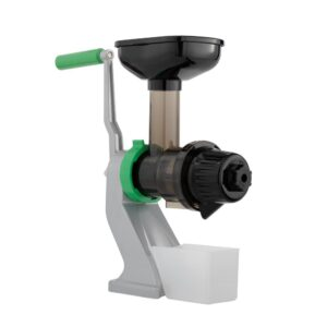 Tribest Z-Star Green and Silver Manual Juicer