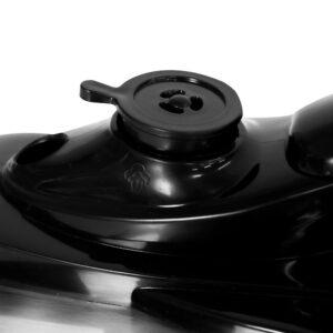 KALORIK 6 qt. Stainless Steel Digital Electric Pressure Cooker