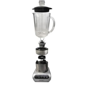 Koblenz Kitchen Magic Collection 59 oz. 3-Speed Silver Professional Blender