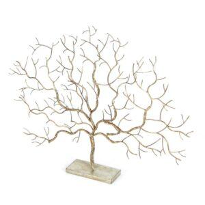 LITTON LANE 24 in. x 32 in. Autumn Tree Decorative Figurine in Colored Polystone