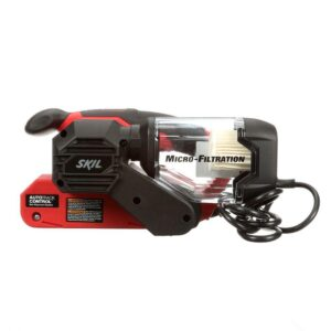 Skil 6 Amp Corded Electric 3 in. x 18 in. Belt Sander Kit with Pressure Control