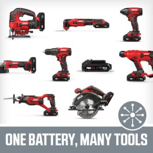Skil PWRCORE 20-Volt Lithium-Ion Cordless 1/2 in. Drill Driver Kit