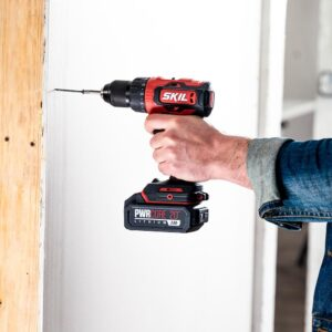 Skil PWRCore 20-Volt Brushless Cordless 1/2 in. Drill Driver Kit Plus 2.0Ah Lithium-Ion Battery (USB) Plus PWRJump Charger